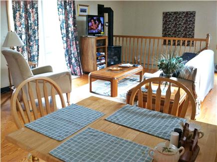 Edgartown Martha's Vineyard vacation rental - Open living and dining area