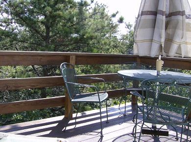 Edgartown Martha's Vineyard vacation rental - Outside deck