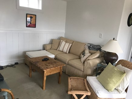 Aquinnah Martha's Vineyard vacation rental - Downstairs TV living space