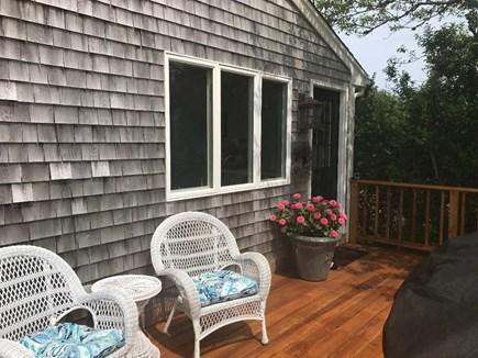 Aquinnah Martha's Vineyard vacation rental - Wrap our deck
