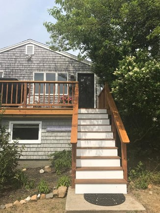 Aquinnah Martha's Vineyard vacation rental - View of house from Driveway