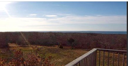 Aquinnah Martha's Vineyard vacation rental - View from the deck