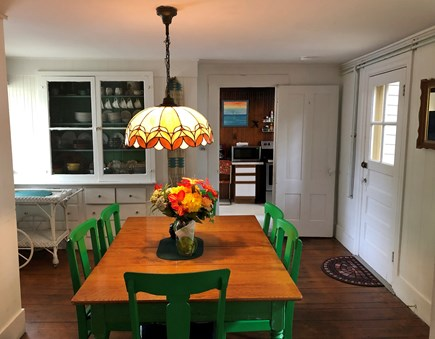 Oak Bluffs Martha's Vineyard vacation rental - Dining room located between living room and kitchen