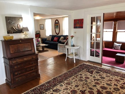 Oak Bluffs Martha's Vineyard vacation rental - Entry way leads to two bedrooms, two living rooms