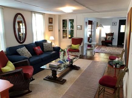 Oak Bluffs Martha's Vineyard vacation rental - Living room facing entry way