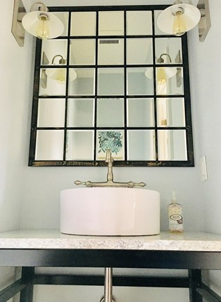 Downtown Vineyard Haven Martha's Vineyard vacation rental - Powder Room (1st Flr).