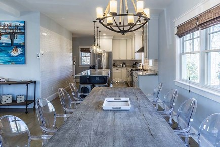 Downtown Vineyard Haven Martha's Vineyard vacation rental - Dining seating for 10 plus additional counter seating.