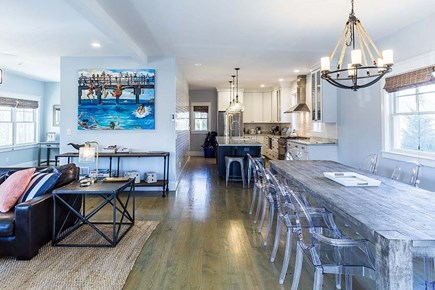 Downtown Vineyard Haven Martha's Vineyard vacation rental - Open concept living area