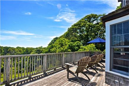 Aquinnah, Martha's Vineyard Martha's Vineyard vacation rental - Southern views of the Atlantic from the sun deck