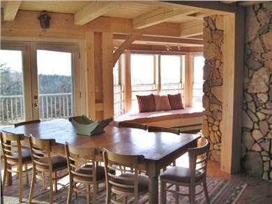Aquinnah, Martha's Vineyard Martha's Vineyard vacation rental - Dining Room seats up to 12 guests
