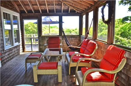 Aquinnah, Martha's Vineyard Martha's Vineyard vacation rental - Enjoy the sea breeze and hammock in our screen porch