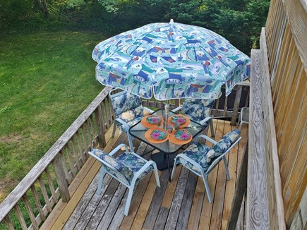 Oak Bluffs walk to town Martha's Vineyard vacation rental - Outside Dining