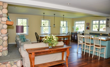 West Tisbury Martha's Vineyard vacation rental - Guests can be together as meals are prepared