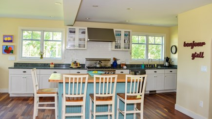 West Tisbury Martha's Vineyard vacation rental - Meal prep is a breeze in this fully equipped kitchen