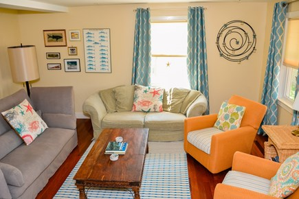 West Tisbury Martha's Vineyard vacation rental - Living room with lots of cozy seating