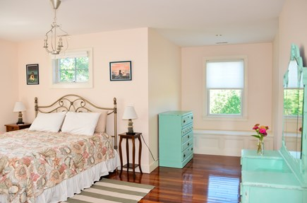 West Tisbury Martha's Vineyard vacation rental - King bedroom