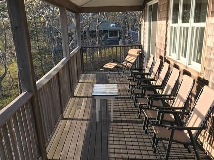 Vineyard Haven Martha's Vineyard vacation rental - Upper balcony offers great lake & ocean views.