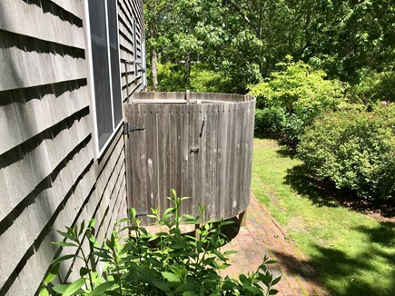 Vineyard Haven Martha's Vineyard vacation rental - Cool off (or warm up) in refreshing private outdoor shower.