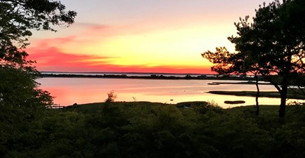 Vineyard Haven Martha's Vineyard vacation rental - Enjoy memorable sunsets across Lake Tashmoo & Vineyard Sound.