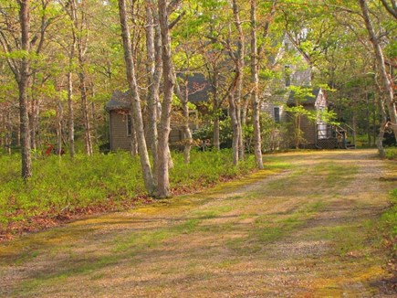West Tisbury Martha's Vineyard vacation rental - Secluded area... plenty of parking.
