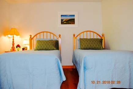 West Tisbury Martha's Vineyard vacation rental - 1st floor, twin beds, spacious, with sitting area