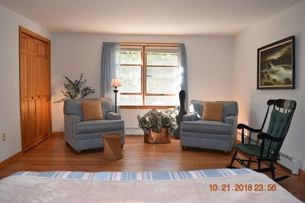 West Tisbury Martha's Vineyard vacation rental - View of sitting area in upstairs master bedroom #1