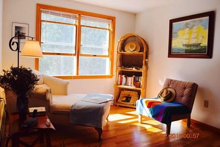 West Tisbury Martha's Vineyard vacation rental - View of sitting area in upstairs master bedroom #2