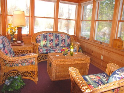 West Tisbury Martha's Vineyard vacation rental - Relax in the beautiful Sun Room.