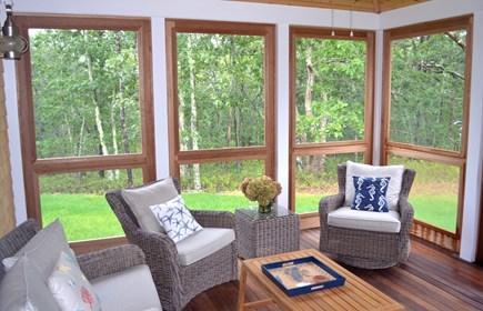 Oak Bluffs Martha's Vineyard vacation rental - Screened-in porch