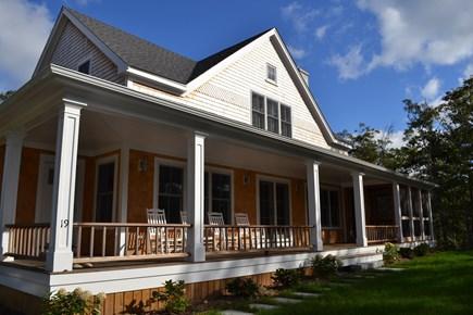 Oak Bluffs Martha's Vineyard vacation rental - Relax on the farmers porch