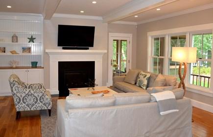 Oak Bluffs Martha's Vineyard vacation rental - Living room with flat screen tv
