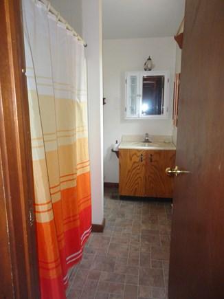 Edgartown  Martha's Vineyard vacation rental - Downstairs bathroom with bathtub and shower