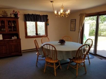 Katama - Edgartown, Katama Edgartown  Martha's Vineyard vacation rental - Dining Room with deck access