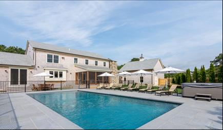 Katama - Edgartown, Edgartown Martha's Vineyard vacation rental - Pool area with hot tub