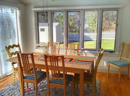 Vineyard Haven   Martha's Vineyard vacation rental - Dining room  well lighted by nature