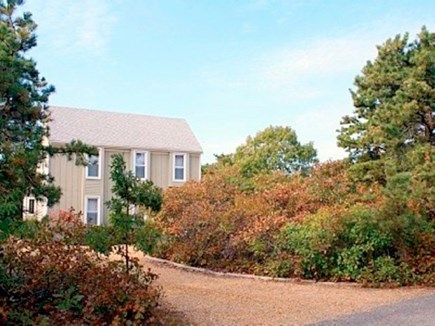 Katama - Edgartown, Katama  Martha's Vineyard vacation rental - Driveway to house
