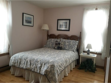 Katama - Edgartown, Katama  Martha's Vineyard vacation rental - Bedroom with double bed upstairs