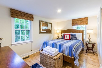 Vineyard Haven, Martha's Vineyard Martha's Vineyard vacation rental - 1st Floor Bedroom with TV with fire stick and DVD