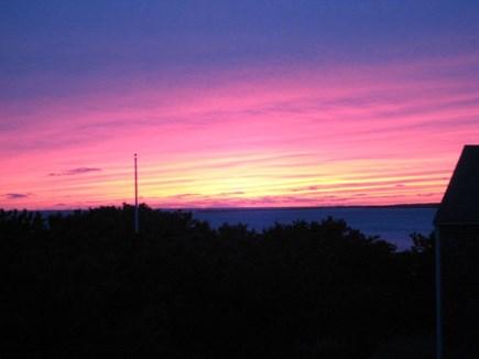 Chappaquiddick Martha's Vineyard vacation rental - Enjoy amazing sunsets off of the upper deck.