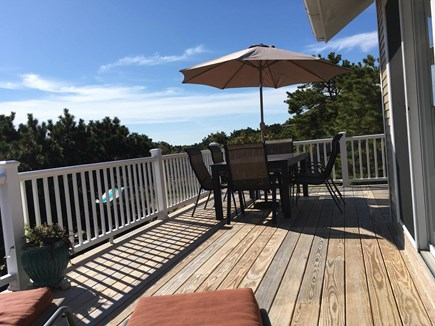 Chappaquiddick Martha's Vineyard vacation rental - Outside dining and lounge area.