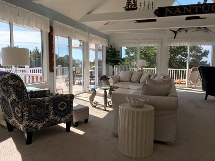 Chappaquiddick Martha's Vineyard vacation rental - Bright, Open, Sunny Living Room