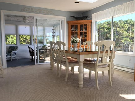 Chappaquiddick Martha's Vineyard vacation rental - Dining Area