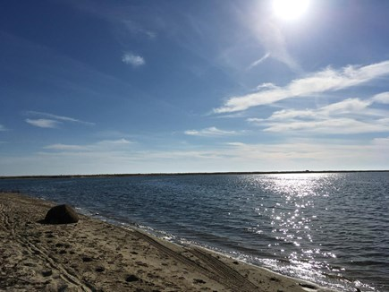 Chappaquiddick Martha's Vineyard vacation rental - Short walk to the beach on Katama Bay.