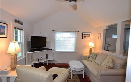 Vineyard Haven Martha's Vineyard vacation rental - Living room- sleeper sofa