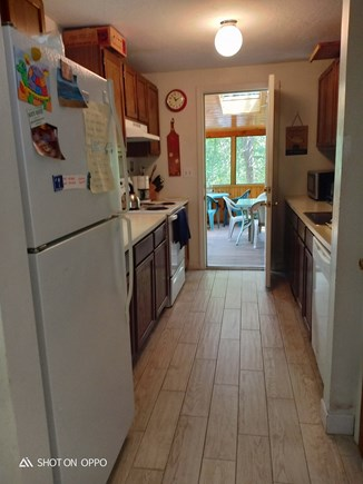 Edgartown , Katama, off Meetin Martha's Vineyard vacation rental - Full kitchen and indoor access to screened porch