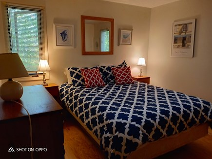 Edgartown , Katama, off Meetin Martha's Vineyard vacation rental - Downstairs queen bed