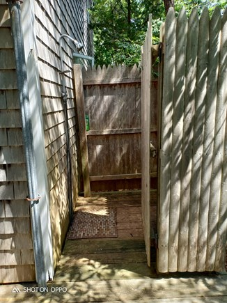 Edgartown , Katama, off Meetin Martha's Vineyard vacation rental - Outdoor shower