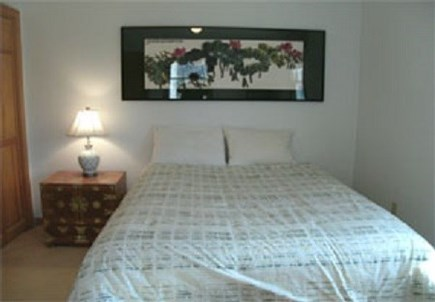 Edgartown Martha's Vineyard vacation rental - Downstairs bedroom with queen size bed