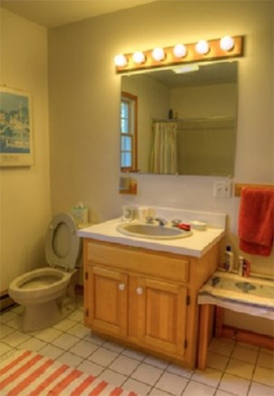 Edgartown  Ferry tix for most  Martha's Vineyard vacation rental - Downstairs Bathroom
