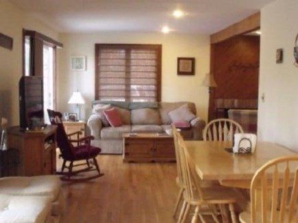Edgartown  Ferry tix for most  Martha's Vineyard vacation rental - Open plan dining area leads to living room